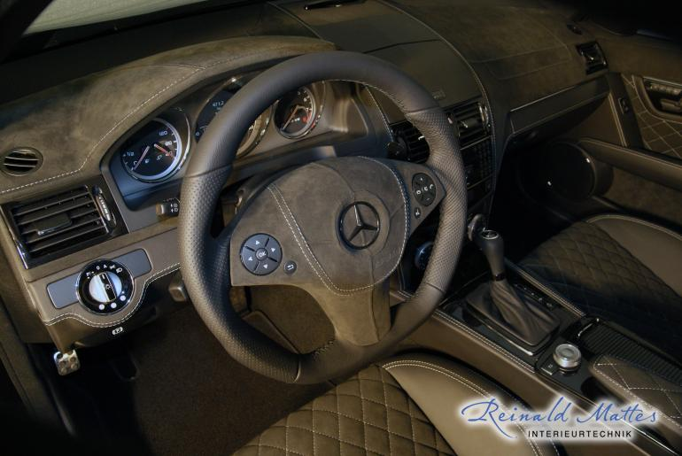 Reinald mattes interieurtechnik interieur mercedes for Interieur mercedes c klasse