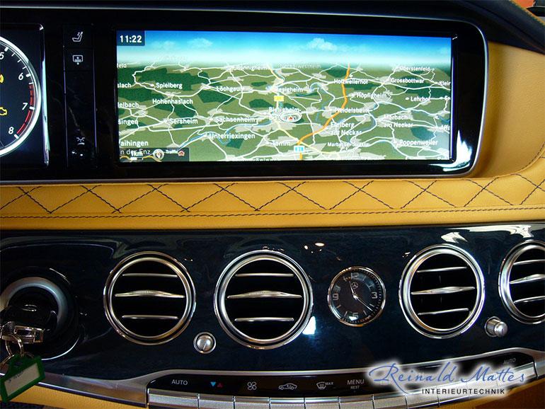Reinald mattes interieurtechnik interieur mercedes for Mercedes s klasse interieur